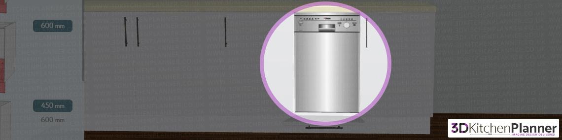 Kitchen appliance installed
