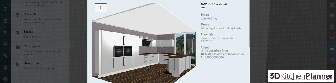 load project 3d kitchen planner