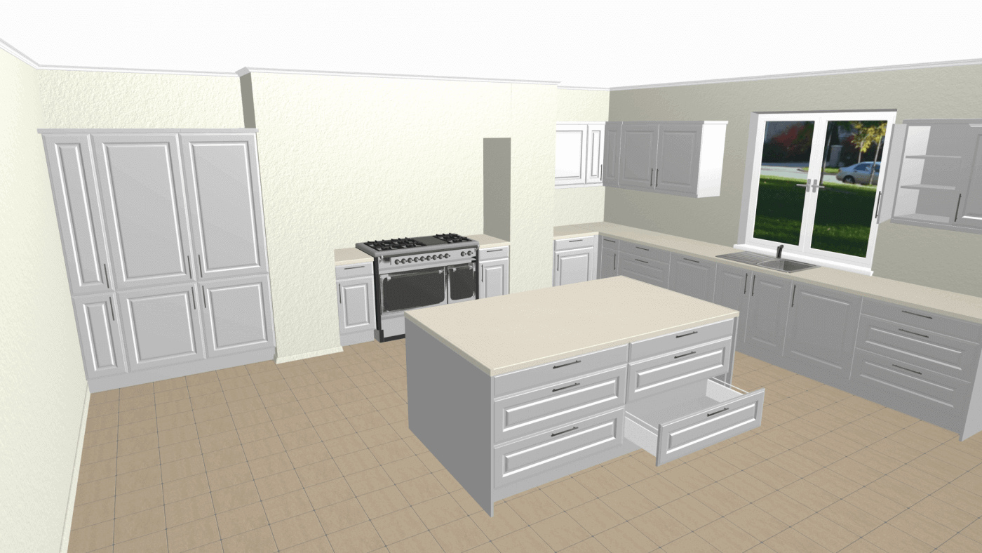 Gallery 3d kitchen planner for 3d bathroom planner